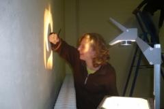 Schilderen repetitielokaal (5 november 2009)