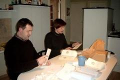 Voorbereiding Lenteconcert (2003)