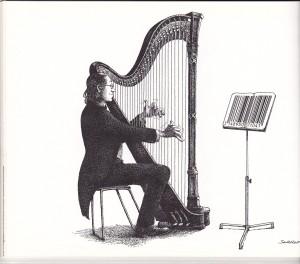 Cartoon - Harp