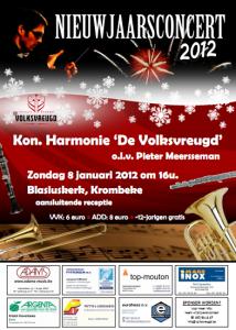 Volksvreugd Proven - Nieuwjaarsconcert
