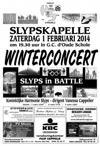 Winterconcert 2014 Affiche-1