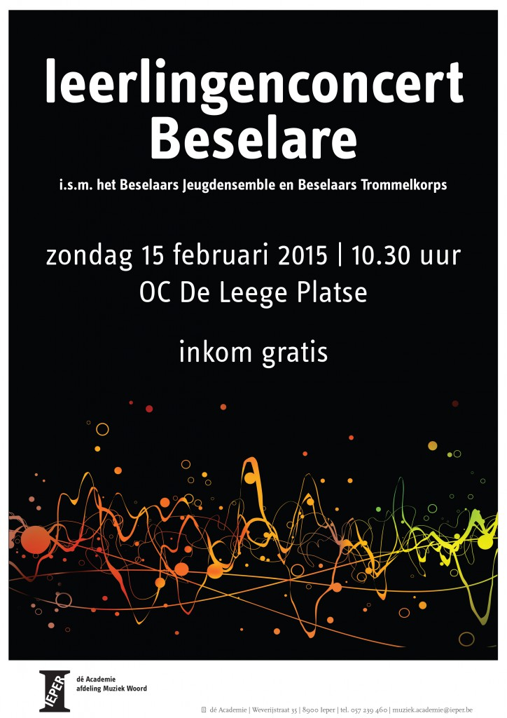 Affiche_concert_leerlingen_Beselare