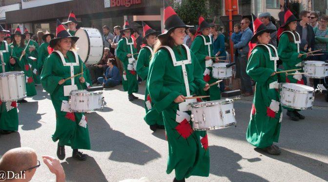 Harmonie Beselare loopt mee in Hoppestoet